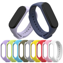 Bracelet for Xiaomi Mi Band 4 3 Sport Strap watch Silicone wrist strap For xiaomi mi band 3 4 accessories Miband 3 4 Strap