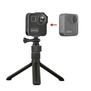 Image 2 - Alüminyum alaşım koruyucu kafes standart çerçeve 2 soğuk ayakkabı dağı GoPro Max 360 eylem kamera canlı akışı Vlog parçaları