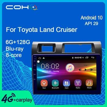 COHO-Radio automotriz con Gps para Coche, Radio con Navegador, Dvd, Android 10,0,...