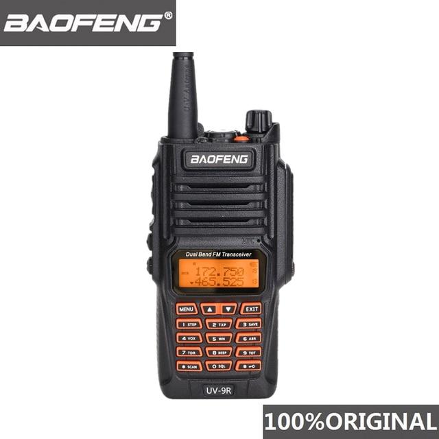 Originele Baofeng UV 9R IP67 8W Lange Afstand Walkie Talkie 10Km Amateur Radio Dual Band UV9R Draagbare Cb Radio communicator Uv 9R