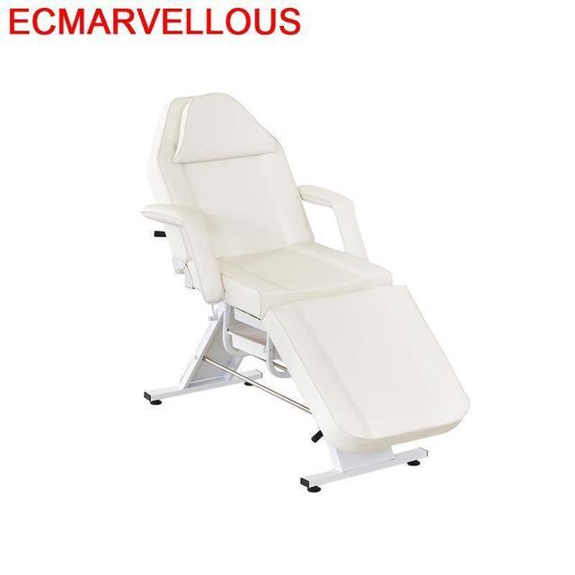 Mesa De belleza, mesa Plegable, Pliante De Tempat Tidur Lipat Camas, muebles, tatuaje, silla De salón Plegable, Camilla De masaje Plegable