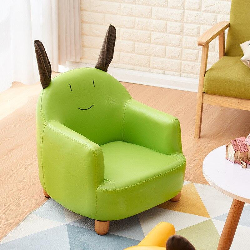 Modern Simple New Style Children's Fabric Sofa Detachable And Washable Cartoon Animal Sofa Chair Creative Leather Lazy Chair