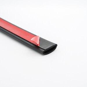Image 4 - Araba kapı contası şerit kapı contası şerit D tipi kauçuk conta ses yalıtımı Epdm araba kauçuk su geçirmez contalar otomatik kapı şeridi