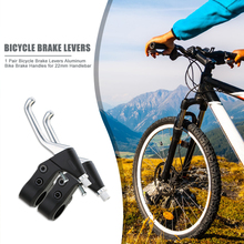 Levers Cycling-Accessories Bike-Handlebar Bicycle Durable Aluminum 22mm 1-Pair