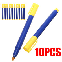 10pcs New Bank Note Checker Tester Pens Counterfeit Fake Money Detector Marker(China)