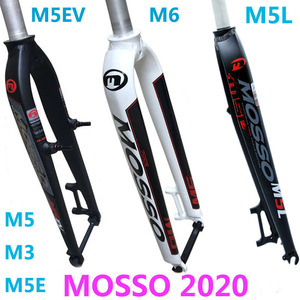 Mosso вилка M5L M6 M5 M5E M5EV M3 MTB Велосипедная вилка подходит для 26 27,5 29er дорожный велосипед вилка v тормоза передние вилки конус глянцевый матовый