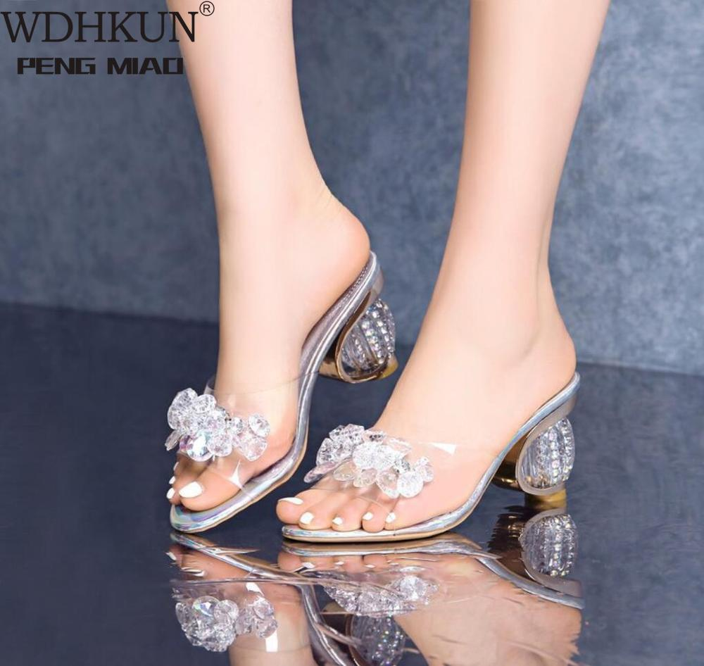 jelly shoes heels