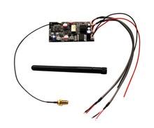 APTX HD CSR8675 محول لاسلكي بلوتوث 5.0 استقبال الصوت مجلس ES9018 I2S DAC محلل شفرة سمعي مجلس 24Bit 96Khz مع هوائي