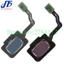 10Pcs Touch ID Flex Für Samsung S9 G960 G960F G960U / S9 Plus G965 G965F G965U Zurück Home Button fingerprint Sensor Flex Kabel