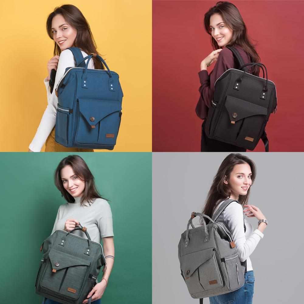 Alameda модная сумка для мам, многофункциональная сумка для подгузников, рюкзак для подгузников, Детская сумка с ремнями для коляски, для ухода ...