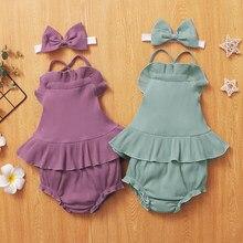 3 uds recién nacido bebé Niñas Ropa de verano ropa de playa correa de Boho colmena mameluco Floral pantalones cortos Niño atuendo para niñas pequeñas ropa