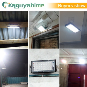 Image 5 - Kaguyahime LED Floodlight 50W 220V Street Lamp Waterproof IP65 Spotlight Reflector focus LED Light Outdoor Cold White Spot Light
