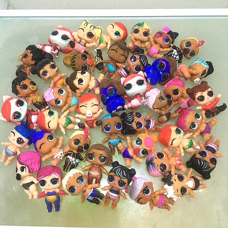 Up to 100 LOL Surprise Dolls LiL Sisters Authentic toy baby gift Color Changed