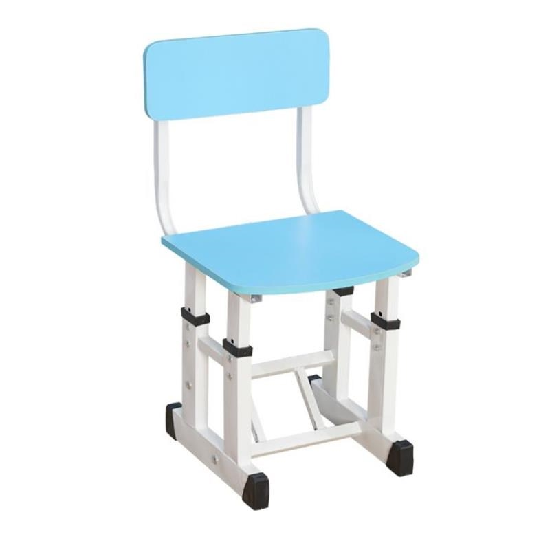 H1 Student Computer Chair Can Lift And Lift Children's Learning Chair Desk Writing Backrest Chair Household Study Bench Cheap