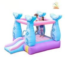 Русалка надувной дом надувной замок дом с воздуходувкой для детской вечеринки