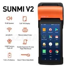 Pos-Terminal-Sunmi Registers Bill-Machine Cash Pda Android Thermal-Printer WIFI Restaurant
