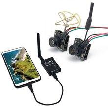 5,8G FPV UVC приемник+ 5,8G 48CH 25/100/200 мВт видео передатчик 700TVL микро FPV Камера OTG Смартфон ВР для трутеня дистанционного управления FPV автомобиля