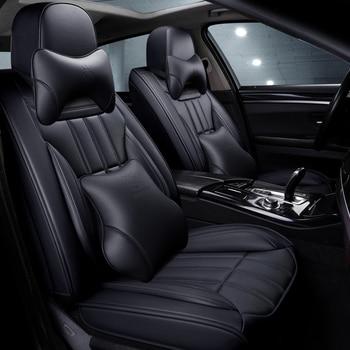 Full Car Seat Cover for toyota land cruiser 80 100 prado 120 150 200 land-cruiser-prado yaris of 2018 2017 2016