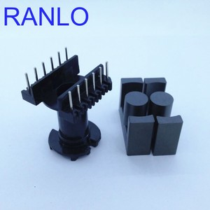 Image 5 - EC35 ER35 vertical 6+6pin transformer frame bobbin skeleton soft ferrite core N87 PC40
