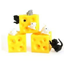 Cheese-Toy Stress Fidget-T Sloth 2-Squishable And Figures Mouse Busting Hide