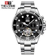 TEVISE Men Brand Watch Fashion Luxury Wr