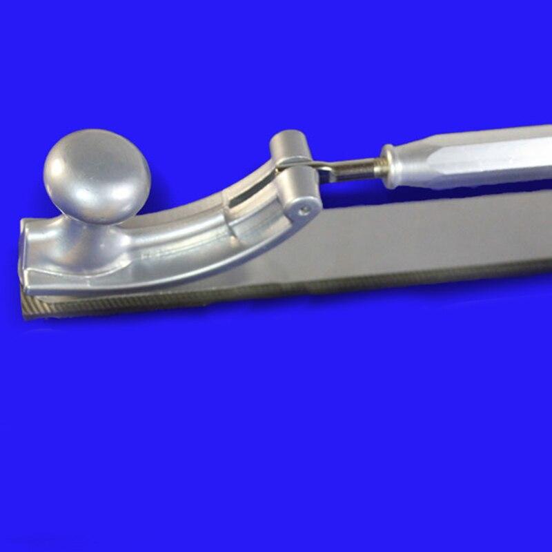 Регулируемая рамка фрезерованный зуб полировщик кузова автомобиля файлы металлическая панель полировка изогнутый зуб стальной держатель файла(средний