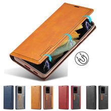 Luxury Case For Galaxy S20 Ultra Case Leather Wallet Magnetic Card Phone Bags Samsung Galaxy S20 Plus Cover Stand
