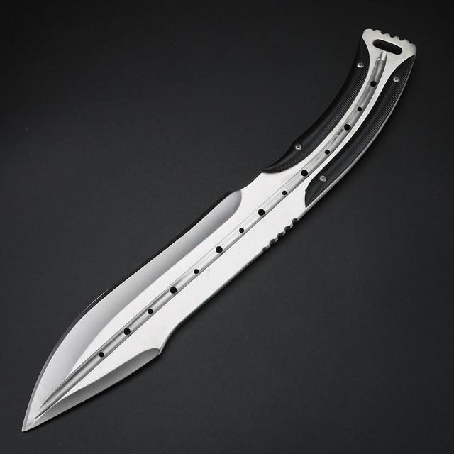Field Hunting Fishing Knife Diving Knives Full Tang Outdoor Knives Fixed Blade Handmade Knife for Men 3