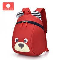 Мультяшный Детский рюкзак с ремнем безопасности, рюкзак с защитой от потери, рюкзак для малышей, Регулируемый рюкзак для младенцев, Детские ...