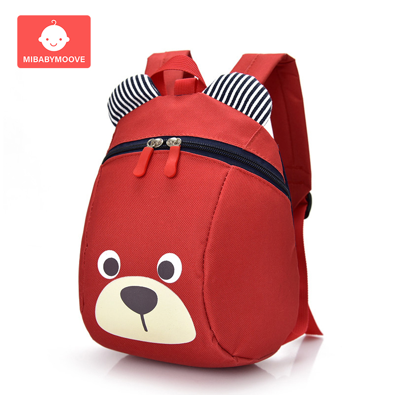 Cartoon Child Safety Harness Backpack Anti-lost Toddler Baby Schoolbag Adjustable Infant Baby Walking Wings Safety Strap Bags