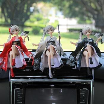 huong anime figura 19 cm yosuga no sora sora kasugano 1 8 pvc sexy action figure da collezione model toy 14CM Yosuga no Sora Figure PVC Action Anime Collection Peripherals Doll Model Toys Kimono Sora Figure for children gifts
