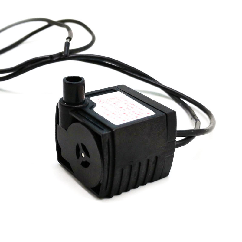 1PC HK-200 220V 2.5W Submersible Pump Fish Tank Aquarium Miniature Mute Water Circulation Pump (No Plug 2 Type Send Randomly)