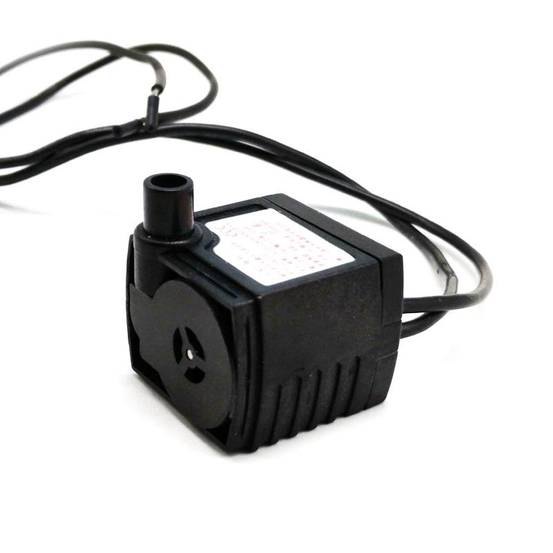 1PC HK-200 220V 2.5W Submersible Pump Fish Tank Aquarium Miniature Mute Water Circulation Pump (No Plug 2 Type Send Randomly)