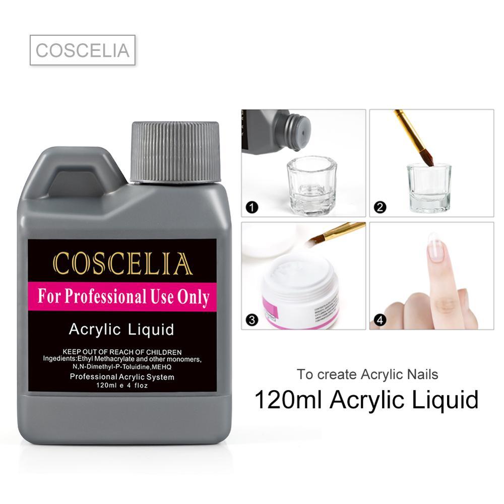 COSCELIA Acrylic Liquid Powder Nail Tips Acrylic Liquid Manicure Liquid For Acrylic Powder Nail Tools Acrylics For Nail