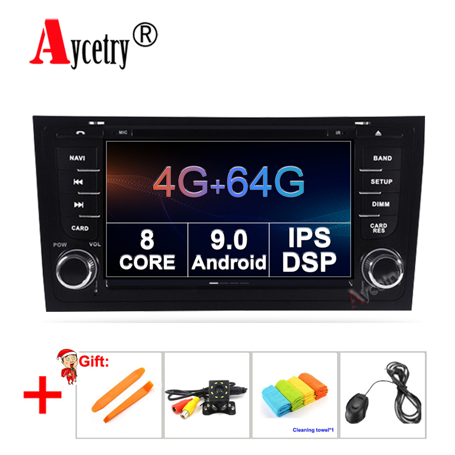 DSP IPS 8 Core 4G 64G 2 Din android 9 0 Car Multimedia dvd Player GPS