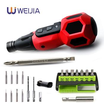 Strona główna DIY Super Torque wkrętak elektryczny Mini wiertarka 3 6v bateria litowa wymień tradycyjny śrubokręt Led Light Power Tools tanie i dobre opinie X-POWER Wkrętarka akumulatorowa Domu DIY 2N m~10N m 0 25kg 3 6 V none PTS-008 50HZ 280rpm Lithium battery Imitation traditional screwdriver