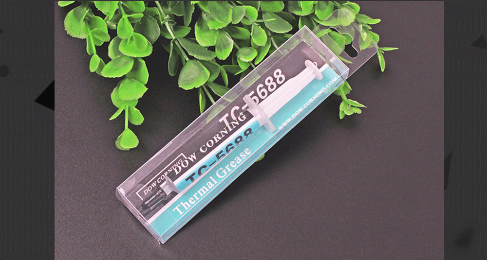 Dow Corning TC-5688 8.0W/mK Thermal Grease Thermally Conductive Compound For Graphics Card Cpu GPU Grease 3g