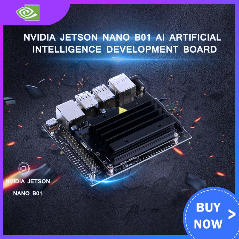 NVIDIA Jetson Nano B01 AI Artificial Intelligence Development Board 2CH CSI
