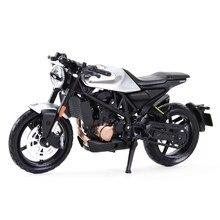 Maisto 1:18 2018 husqvarna vitpilen 701, modelo de veículos fundidos, estático, brinquedos colecionáveis, motocicleta