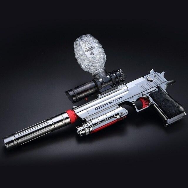 SPRRD QUALITY TOY COMBINATION SOFT BULLET GUN