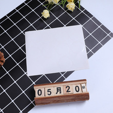 120pcs/lot  Round White Color Self-adhesive Sealing Sticker Gifts Package Label For Baking Products