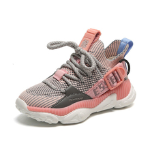 2019 new outdoor kid shoes breathable flat boys school Non-slip Net cloth casual sneakers 1-15 years old