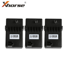 Xhorse ELV émulateur renouveler ESL pour Benz 204 207 212 travailler avec VVDI MB outil 3 pièces/lot
