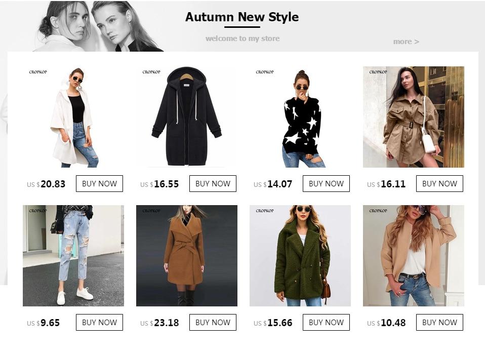 CROPKOP Fashion Long Sleeve Hooded Trench Coat 18 Autumn Black Zipper Plus Size 5XL Velvet Long Coat Women Overcoat Clothes 11