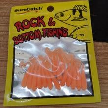 BassLegend-мягкие пластиковые рыболовные мини-приманки крошечные блестящие черви бас-форель, щука 36 мм/0,4 г 15 шт