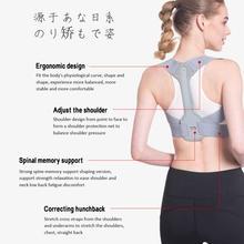 Posture Corrector Hunchback Treatment Posture Belt Adjustable Shoulder Back