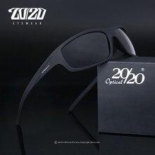 20/20 оптический абсолютно новый дизайн поляризованных солнцезащитных очков Для мужчин модные мужские солнцезащитные очки для рыбалки Oculos ...