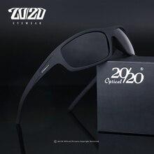 20/20 Optical Brand Design New Polarized Sunglasses Men Fash