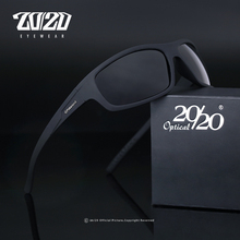 20/20 optyczny marka projekt nowe spolaryzowane okulary mężczyźni moda męskie okulary przeciwsłoneczne podróży wędkowanie óculos PL66 z pudełkiem