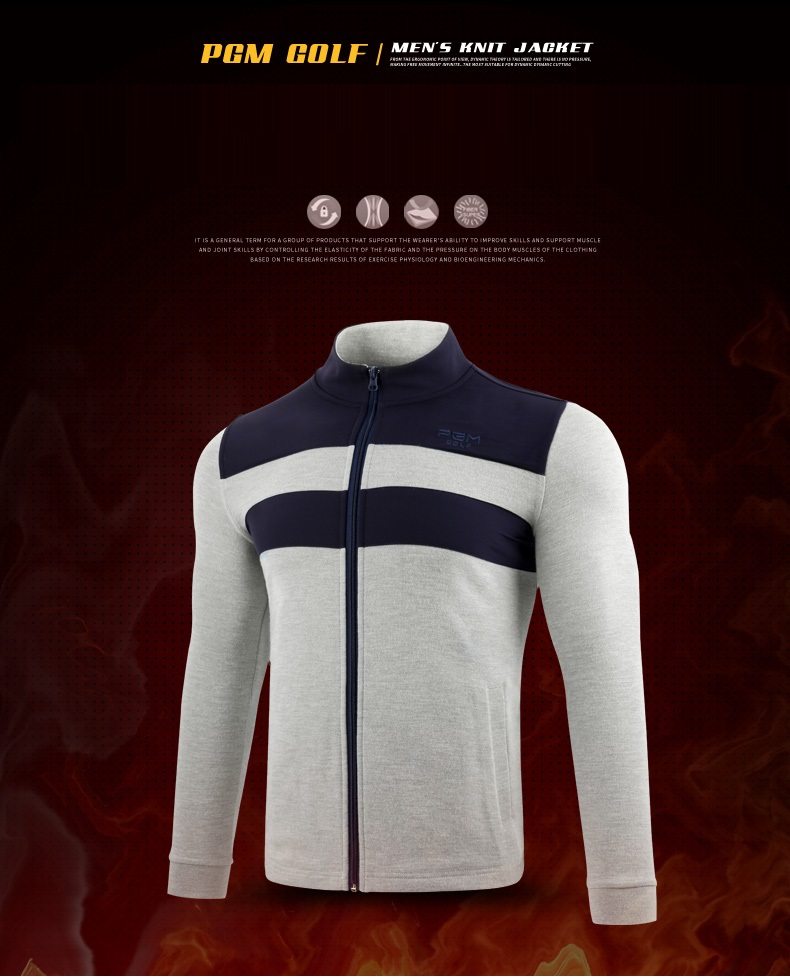 masculino costura malha quente jaqueta